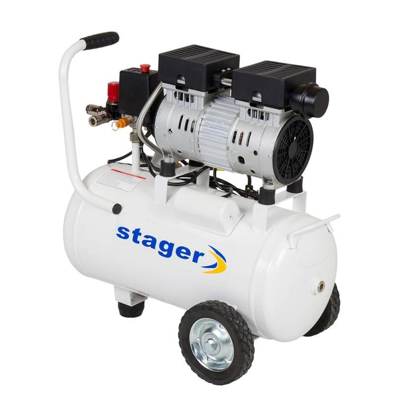 Poza Compresor de aer Stager HM24JW-0.55 0.75CP, 24L, 8BAR. Poza 14583