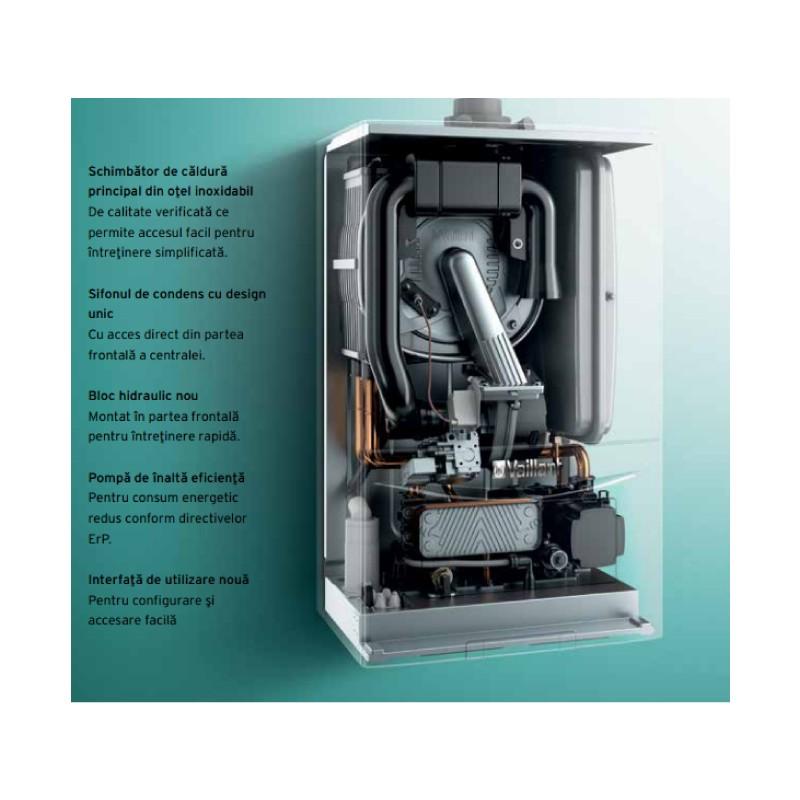 Centrala termica Vaillant ecoTec PURE VUW 236/7-2 24 kW. Poza 15122