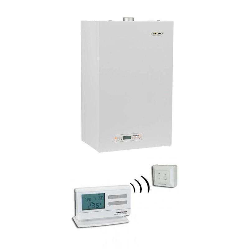 Poza Centrala termica conventionala cu termostat Q7RF Motan Sigma 24 Erp - 24 kW. Poza 16115