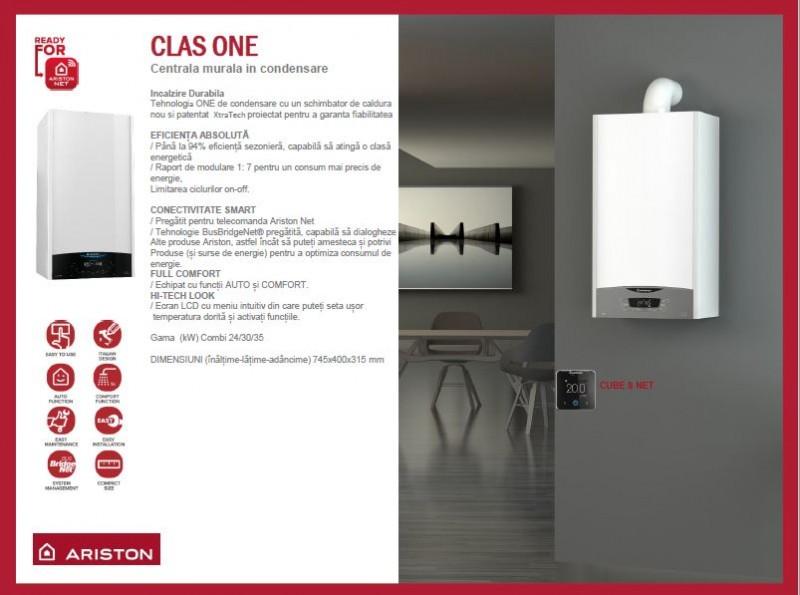 Poza Centrala termica Ariston Clas One 24 EU 24 KW. Poza 14371