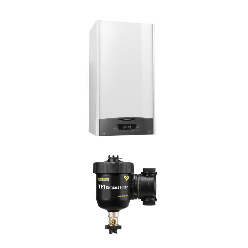 Poza Centrala termica in condensare cu filtru antimagnetita TF1 Ariston Clas One 24 EU 24 KW. Poza 16129