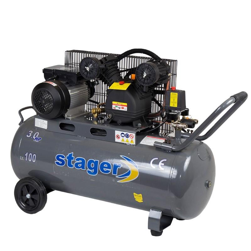 Poza Compresor de aer Stager HM-V-0.25/100 100L 8 BAR. Poza 14460