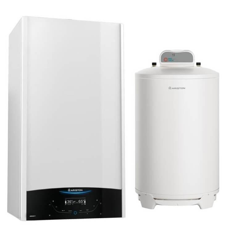 Poza Pachet centrala termica in condensatie Ariston Genus One System 35 EU cu boiler BCH 200 litri.. Poza 19283