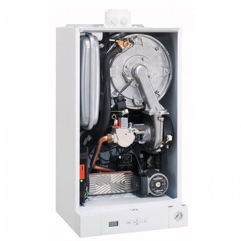 Poza Centrala termica Viessmann Vitodens 050 W 33 kW cod BPJD053. Poza 19398