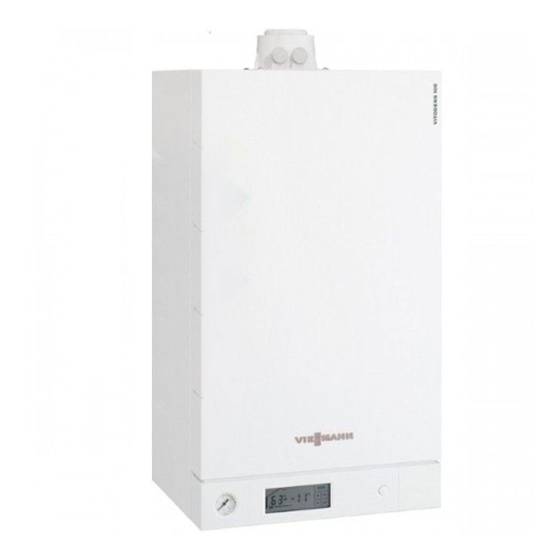 Poza Centrala termica in condensare cu touchscreen Viessmann Vitodens 100-W 35 kw combi B1KC157. Poza 20039