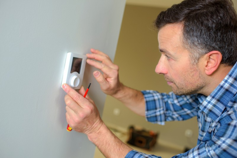 termostatul de ambient. Poza 241