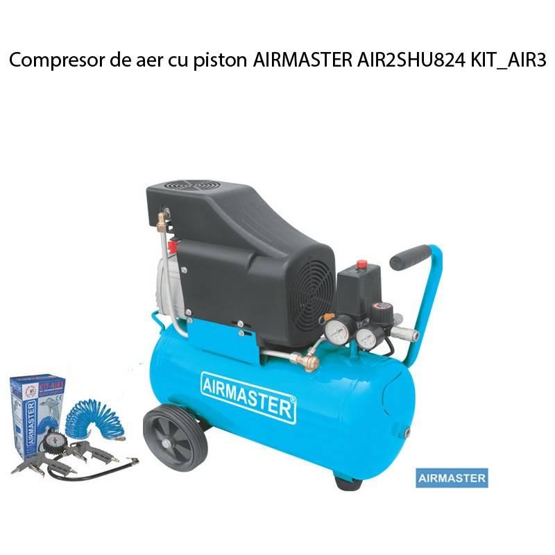 Poza Compresor de aer cu piston AIRMASTER AIR2SHU824 KIT_AIR3