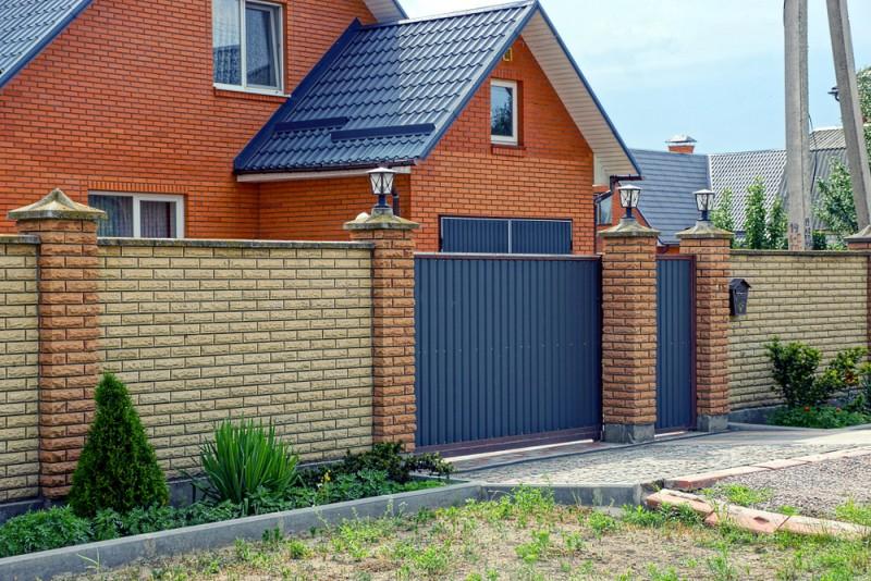Poza care este cel mai bun gard pentru casa. Poza 310