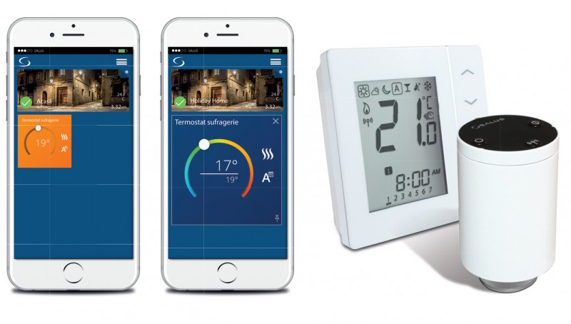 Sistemul Salus iT600 Smart Home poza 5