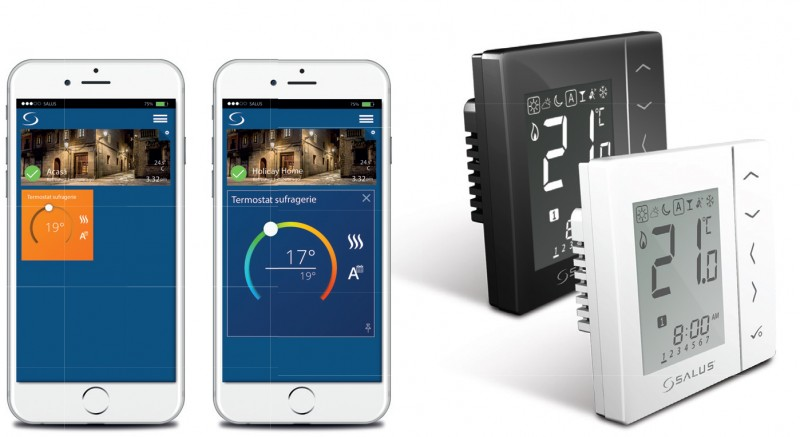 Sistemul Salus iT600 Smart Home poza 6