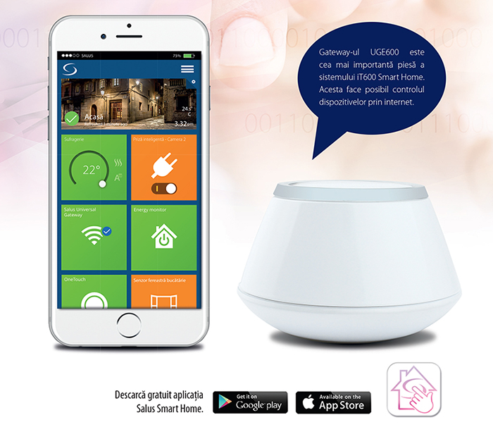 Sistemul Salus iT600 Smart Home. Poza 88
