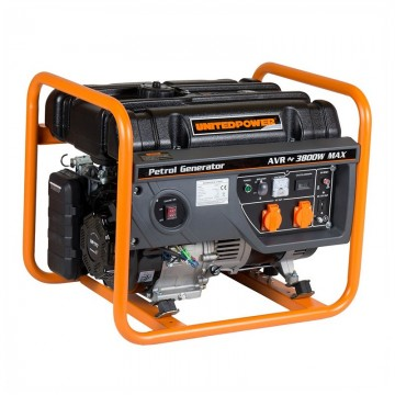 Poza Generator open frame benzina Stager GG 4600