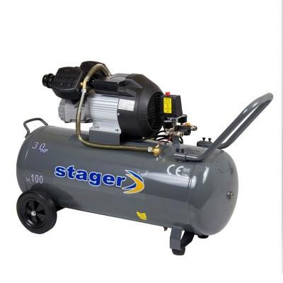 Poza Compresor de aer Stager HM3100V 3CP, 100L, 8BAR. Poza 15600