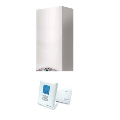 Poza Centrala termica in condensare Ariston CARES PREMIUM 24 EU 24 kW cu termostat Salus T105RF. Poza 16101