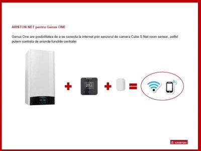 Poza Centrala termica Ariston Genus One 24 EU 24 KW. Poza 14405