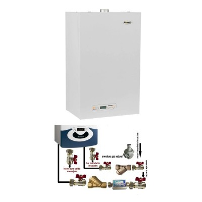 Poza Centrala termica cu pachet de instalare Motan Sigma 24 Erp - 24 kW. Poza 16362