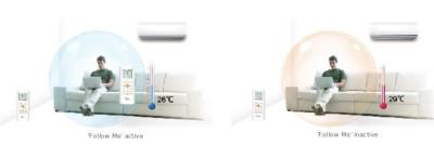Poza Aparat aer conditionat Platinium 9000 BTU cu kit instalare PF-09DC. Poza 16387
