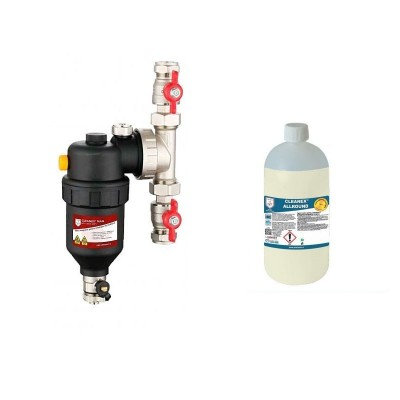 Poza produs Centrala termica Ariston Clas One 35 kw, pachet instalare, filtru antimagnetita cleanex, termostat ambient neprogramabil q3rf