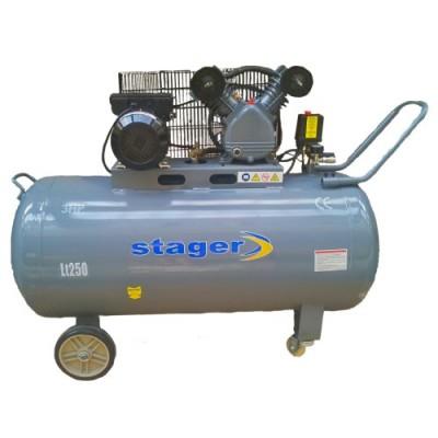 Poza Compresor de aer Stager HM-V-0.25/250 250L 8BAR. Poza 14472