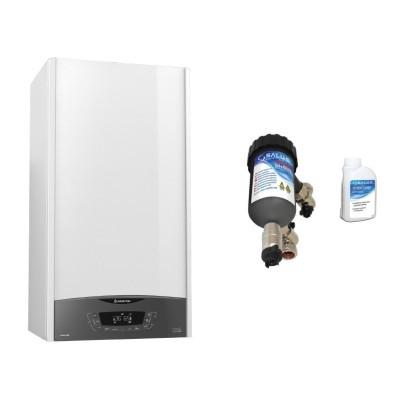 Poza Centrala termica Ariston Clas One 24 EU 24 KW cu filtru antimagnetita Salus MD22A. Poza 17367