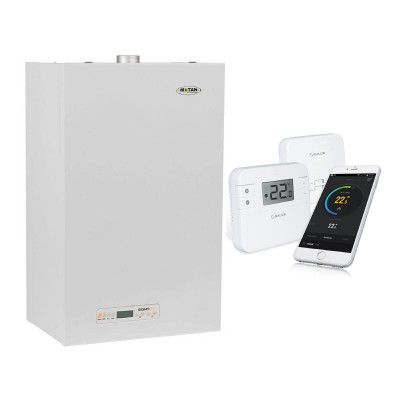 Poza Centrala termica Motan Sigma 24 Erp - 24 kW cu termostat cu control prin internet Salus RT310i. Poza 17511