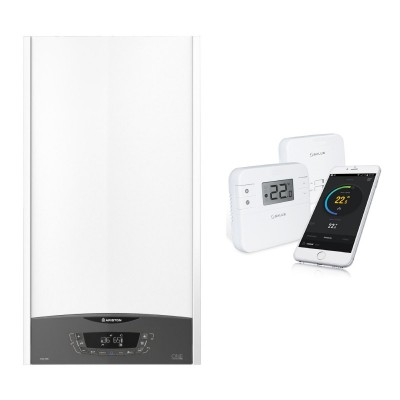 Poza Centrala termica Ariston Clas One 24 EU 24 KW cu termostat cu control prin internet Salus RT310i. Poza 17530
