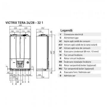 Poza Centrala termica Immergas Victrix Tera 24/28 1 Erp 24 kw