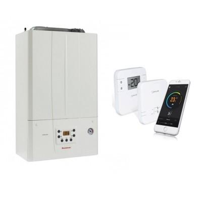 Poza Centrala termica Immergas Victrix Tera 24/28 cu termostat cu control prin internet Salus RT310i. Poza 17784
