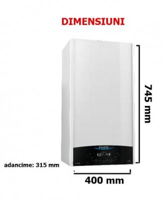 Poza Pachet centrala termica in condensatie Ariston Clas One System 24 EU cu boiler BCH 200 litri.. Poza 19199