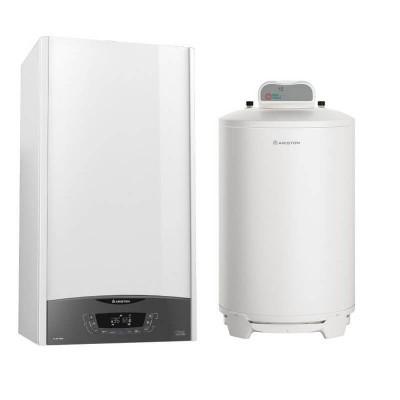 Poza Pachet centrala termica in condensatie Ariston Clas One System 24 EU cu boiler BCH 200 litri.. Poza 19202