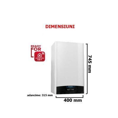 Poza Pachet centrala termica in condensatie Ariston Genus One System 35 EU cu boiler BCH 200 litri.. Poza 19280