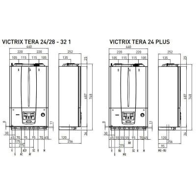 Poza Centrala termica Immergas Victrix Tera 24/28 1 Erp 24 kw. Poza 19441