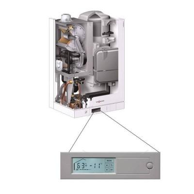 Poza Centrala termica in condensare cu touchscreen Viessmann Vitodens 111 W 35 kW B1LD163. Poza 19430