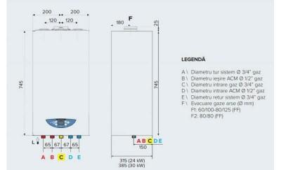 Poza Centrala termica in condensare Ariston Matis Condens Plus 24. Poza 20354