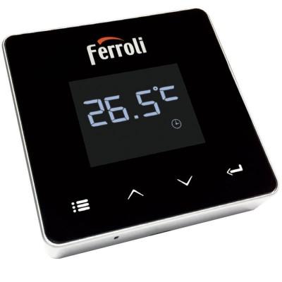 Poza Cronotermostat de ambient cu radio frecventa Ferroli Connect WI-FI. Poza 20360