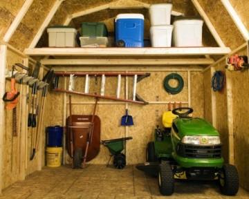 Idei pentru organizarea magaziei de unelte. Poza 342