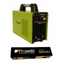 Invertor de sudura Proweld MMA-140JI cu electrozi rutilici 2.5mm E6013 - 5Kg