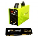 Invertor de sudura Proweld MMA-180JI cu electrozi rutilici 3.2mm E6013 5Kg