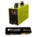 Invertor de sudura Proweld MMA-250JI cu electrozi rutilici 3.2mm E6013 5Kg