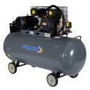 Compresor de aer Stager HM-V-0.6/370L 370 litri 8 bari kit 4 accesorii aer comprimat ce cuprinde pistol vopsit, pistol suflat, pistol manometru, furtun spiralat